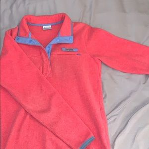 Fleece Columbia Pullover